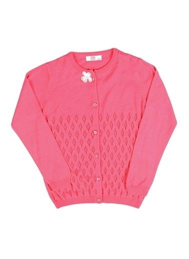 Pink&Orange Hırka Fuşya